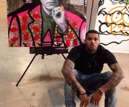 Chris Brown Contributes to 'Andy Goes Street'